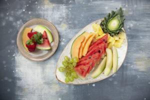 Fruktfat fra Eurest Konferanse & Selskaps menyer