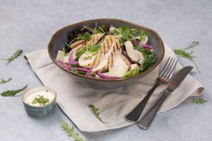 Kyllingsalat fra Eurest Konferanse & Selskaps menyer