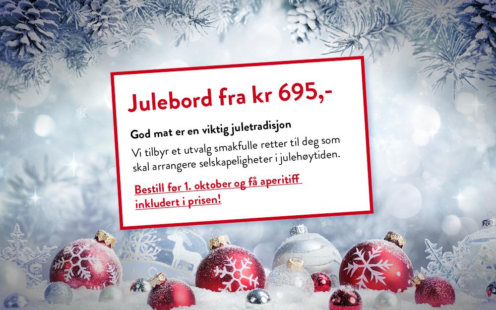 Julebord i Oslo - kampanje for Eurest Konferanse & Selskap