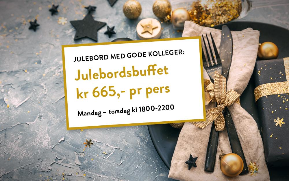 Julebordsbuffet i Oslo - kampanje for Eurest Konferanse & Selskap